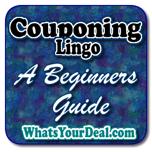 Beginners Guide Coupon Lingo and Jargon