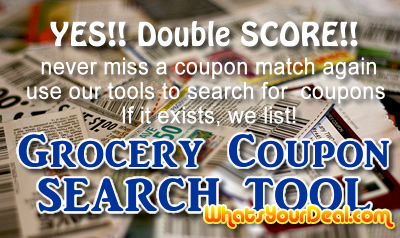 Grocery Coupon Search Tool - Over 6000 Coupons