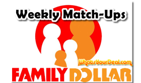 Family Dollar Weekly Match Up