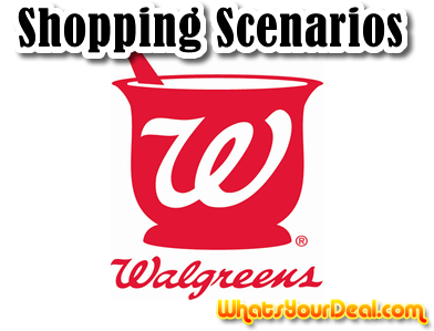 Walgreens Transaction Scenarios