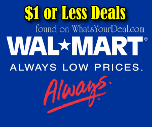 Walmart $1 or Less deals