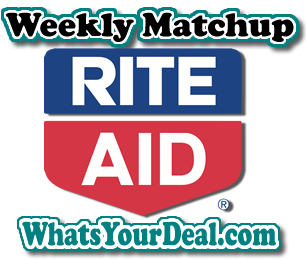 Rite Aid Weekly match UP