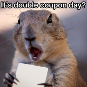 Double coupon meme