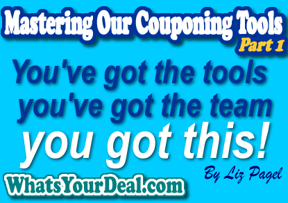 Mastering Couponing Tools
