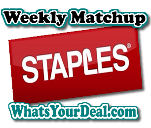 Staples Weekly Match UP