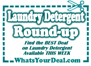 There is a new printable coupon for $1 off Xtra laundry detergent that you'll want to print off right away as it most likely has limited prints available. You will need to register to print this coupon off & it prints the coupon in spanish, but that shouldn't cause any problems. This coupon will pair up nicely with some different sales going on right now!