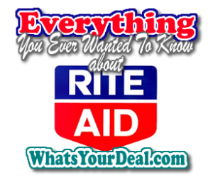 Everything about RITE AID