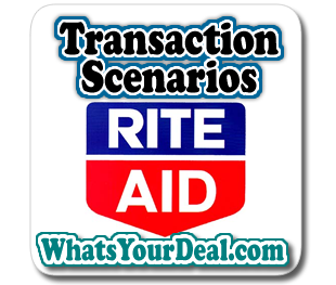 Rite Aid Transaction Scenarios