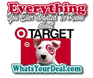 Everything you want to know about Target