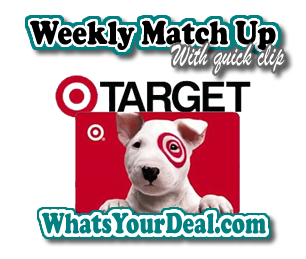 Target Weekly Match Ups