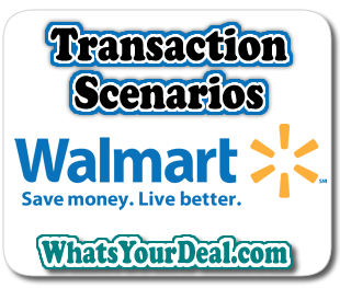 Walmart Transaction Scenarios