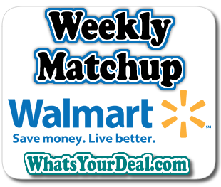 Walmart Weekly Match UP