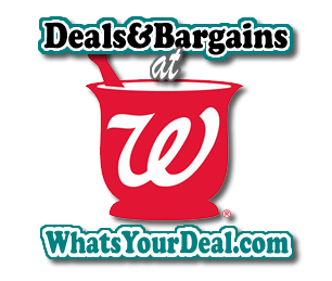 deals and bargains at walgreens