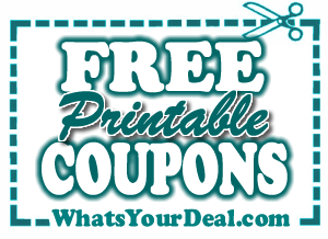 FREE printable COUPONS!