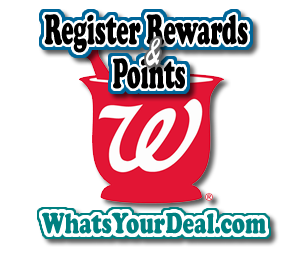 walgreens Register Rewards and Points
