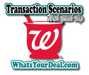 walgreens transaction scenario