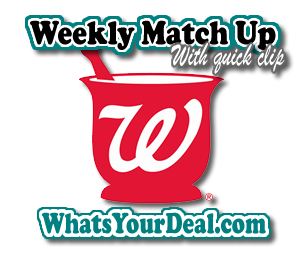 walgreens weekly match up