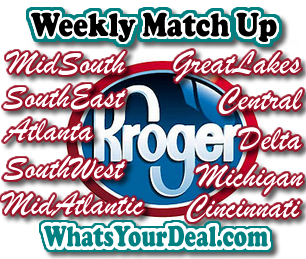 Kroger Weekly Match ups
