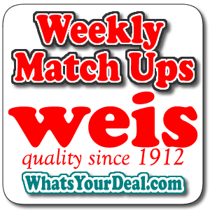 Weis weekly matchups