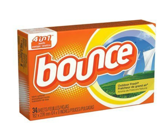 Coupons bounce dryer sheets