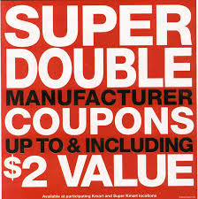 kmart double coupon