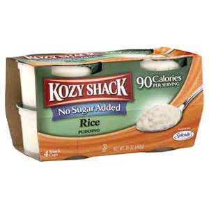kozy shack This is the best rice pudding on the face of the earth sounds pretty confident huh yes i am if you like kozy shack rice pudding, the rice pudding that you'll find in.