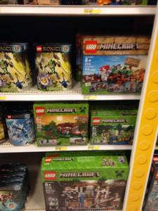 Minecraft Legos Have Finally Arrived At Target Check It