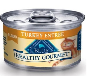 Healthy gourmet cat food
