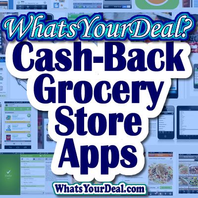 cash back grocery store apps