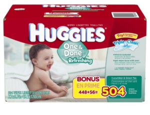 huggies one and done