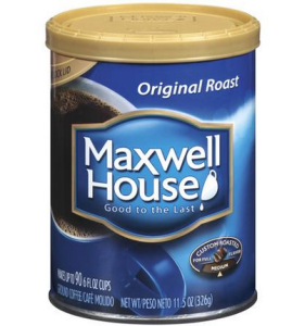 picture regarding Maxwell House Coffee Coupons Printable called Discount coupons for maxwell home espresso 2018 : Harcourt outlines