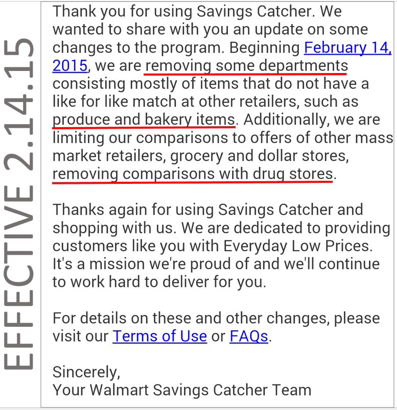 Savings catcher deal hot tide simply just 1 43 each grocery