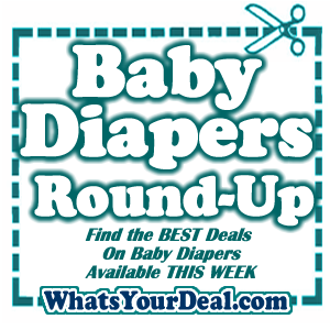 Diapers on SALE right NOW
