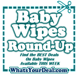 Baby Wipes on SALE RIGHT NOW