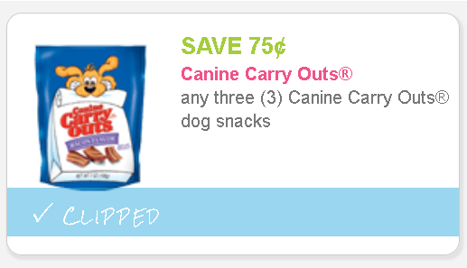 Canine carry outs coupons 2018