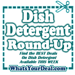 Dish Washer and Dish Detergent Deals