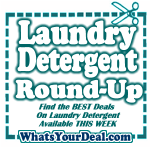 Best Deals on Laundry Detergent This Week