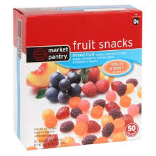 market pantry fruit snacks
