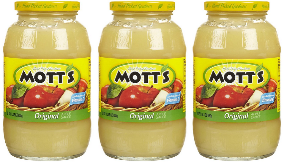 Motts applesauce coupon october 2018