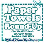 Best Prices on Paper Towels This Week