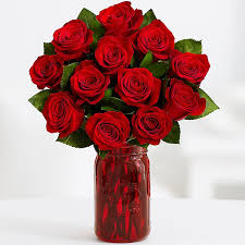 just in time for s day 26 for 2 dozen roses vase