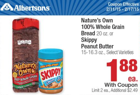 Skippy peanut butter coupon printable 2018
