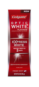 colgate optic white express