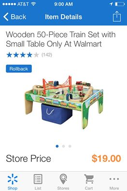 Run…. Quick… Train Table And ALL Accessories For ONLY $19 W/Walmart ...