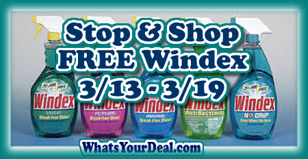 Stop Shop Free Windex 3 13 3 19 Grocery Coupons Wyd