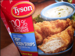 tyson chicken strips