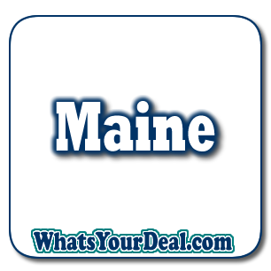 Portland Maine, to Caribou and Houlton to Brunswick maine deals
