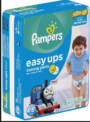 pampers easy pull up training