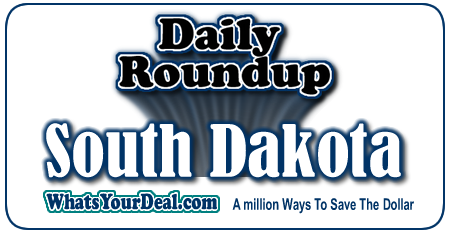 Souix Falls, Rapid City, Chamberlain, Mobridge deals