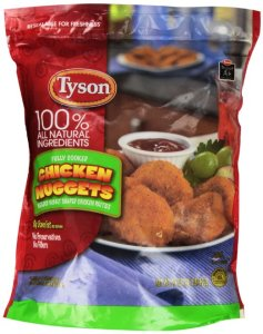 tyson nuggets